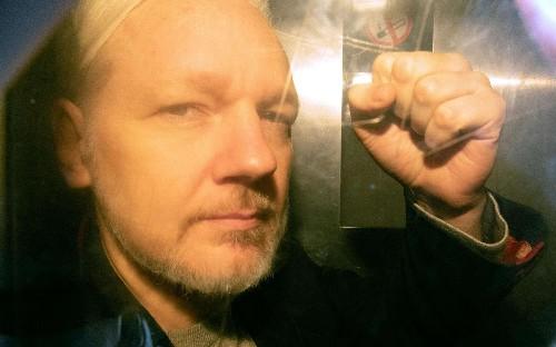 Julian Assange extradition hearing Wikileaks founder US