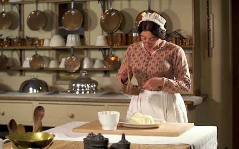 Life in Avis Crocombe's Victorian kitchen proves a recipe for YouTube stardom