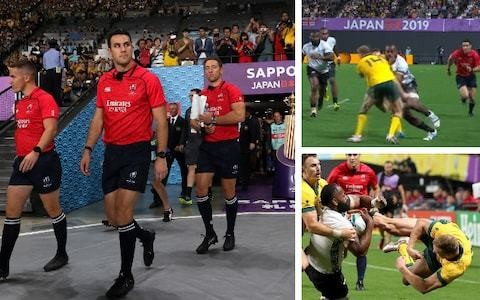 World Rugby issues extraordinary statement criticising referees' Rugby World Cup performances so far