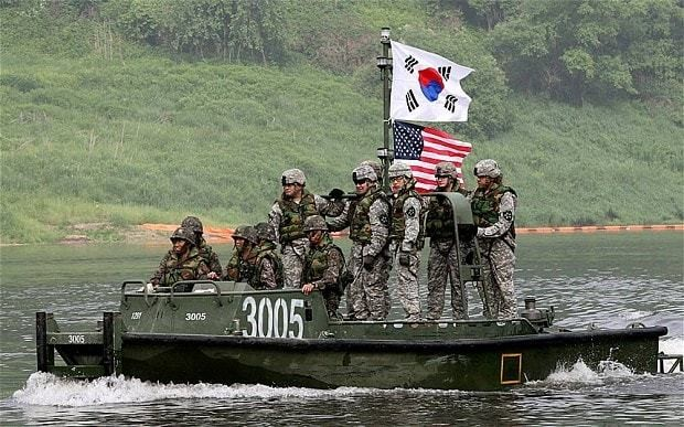 North Korea threatens nuclear war in run-up to US-South Korea war games
