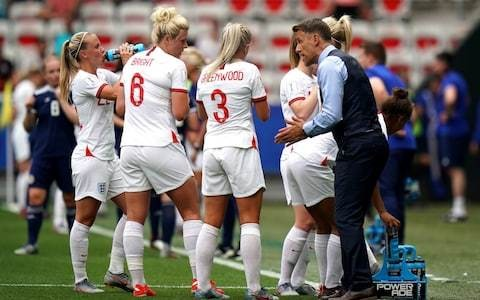 'Nice guy' Phil Neville has won over England players with human touch, says Millie Bright
