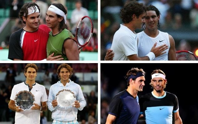 Roger Federer vs Rafael Nadal: The five ages of tennis's greatest rivalry