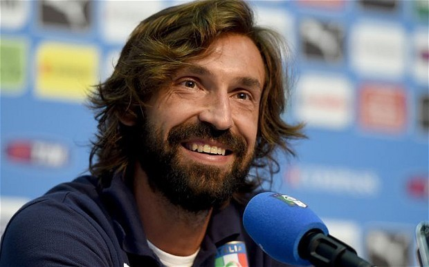 Italy playmaker Andrea Pirlo confident ahead of England World Cup 2014 clash