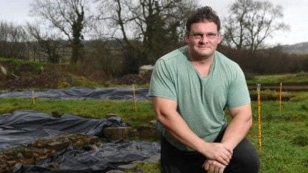 Man who used life savings to buy a field discovers ruins of an entire lost city under the ground