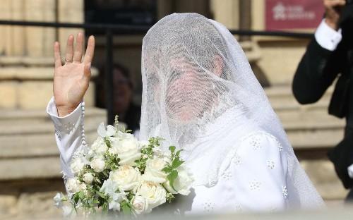The wedding of Ellie Goulding and Caspar Jopling, in pictures