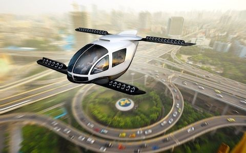 Science-fiction or our future commute? The reality behind the promise of flying taxis