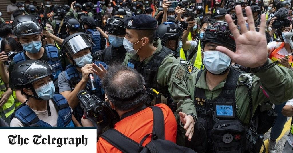 Germany grants asylum to democracy protestor who fled Hong Kong