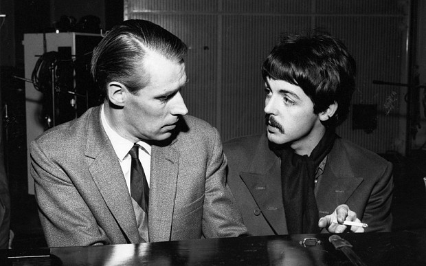 Paul McCartney pays moving tribute to Beatles producer and 'second father' George Martin