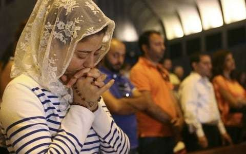 The Muslim refugees converting to Christianity 'to find safety'