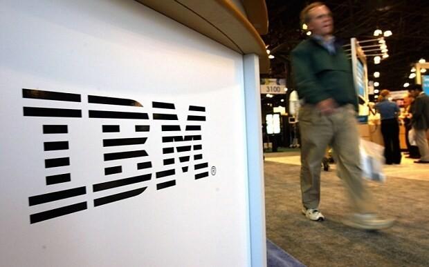 IBM sees sales fall for 13th straight quarter