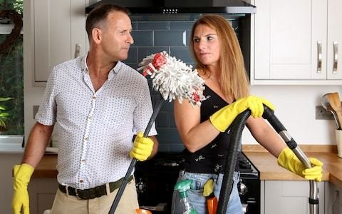 Chore wars: is the division of housework putting a strain on your relationship?