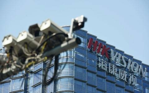 US bans Chinese company behind 1.3m UK CCTV cameras over spying allegations