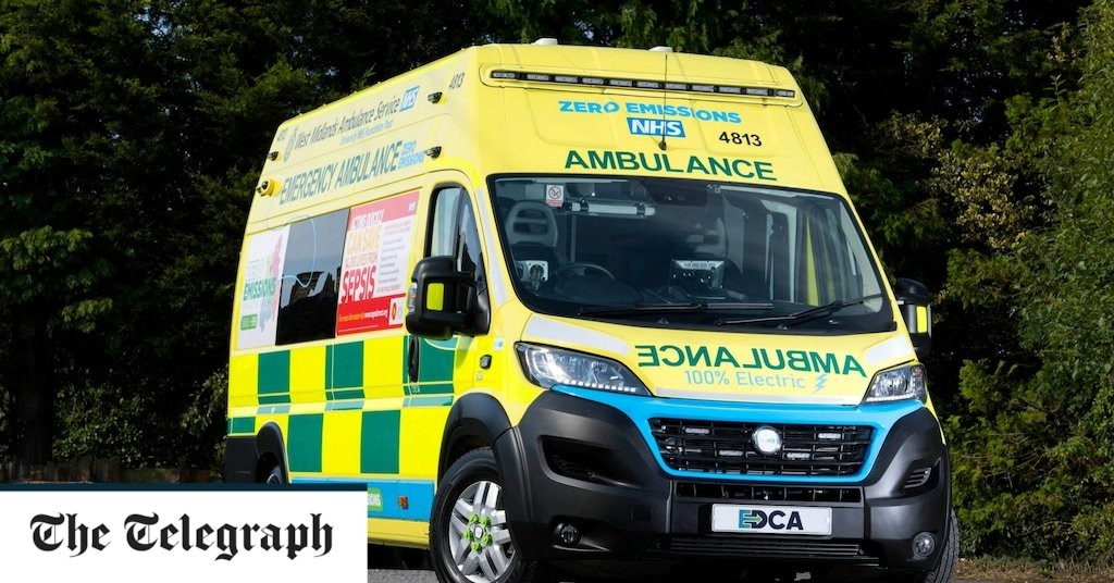 One in ten ambulance call-outs during Covid pandemic for mental health reasons