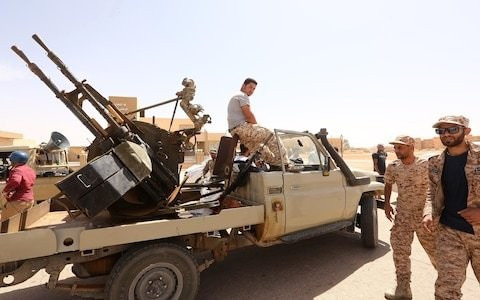 British special forces destroyed Islamic State trucks in Libya, say local troops