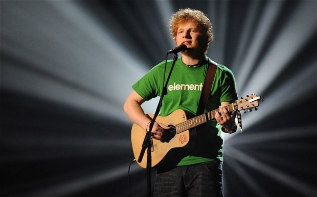 UK Top 40: Ed Sheeran secures first number 1 with Sing