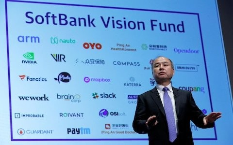SoftBank's boss is 'embarrassed and flustered' by track record amid WeWork trouble