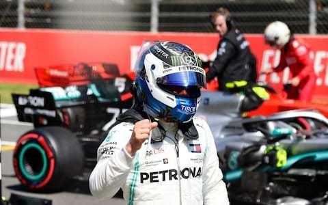 Valtteri Bottas blows away Lewis Hamilton to take third pole in a row ahead of Spanish GP