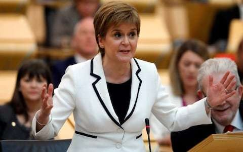 One in five Scots back Nicola Sturgeon's plan for second independence referendum within two years