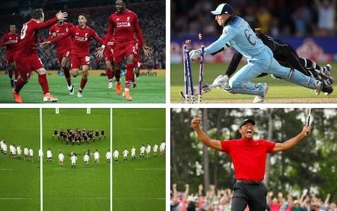 Top sporting moments of 2019, told by the key players