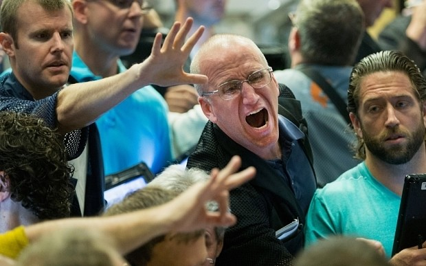Black Monday: Stock market meltdown wipes billions off global indices as China fears decimate investors