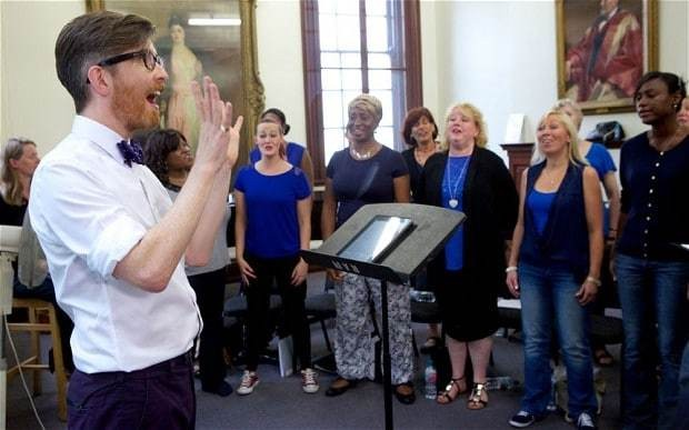 Choir singing 'boosts your mental health'