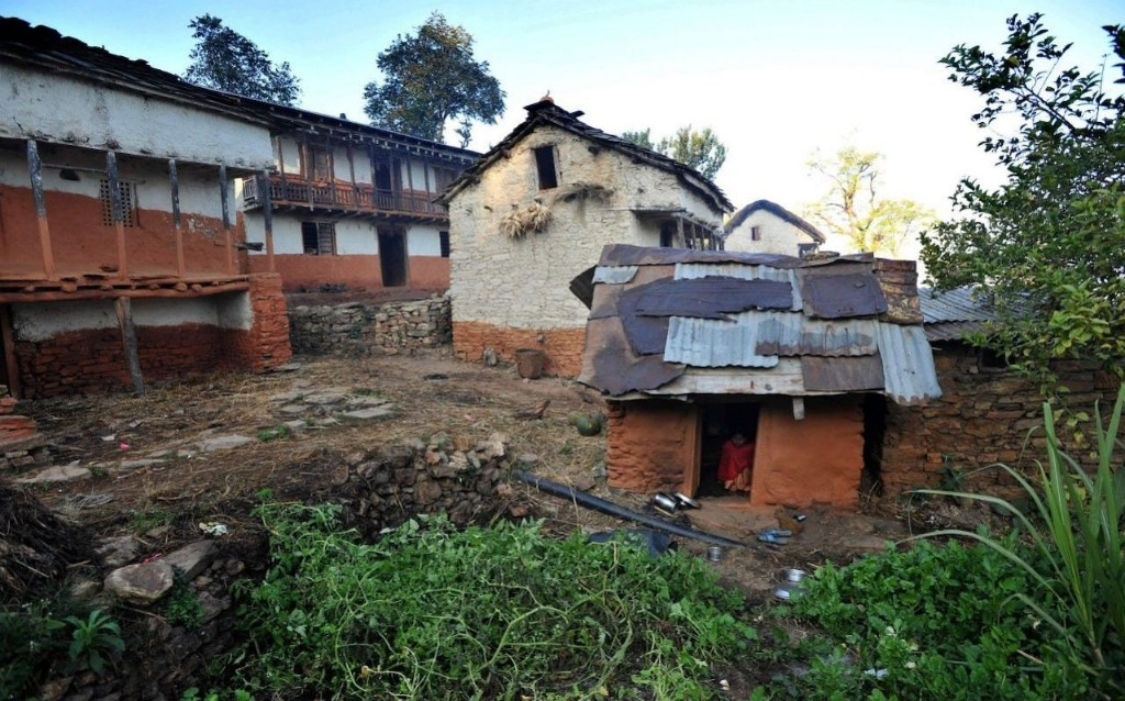 Remote town becomes first in Nepal to end practice of isolating women during periods