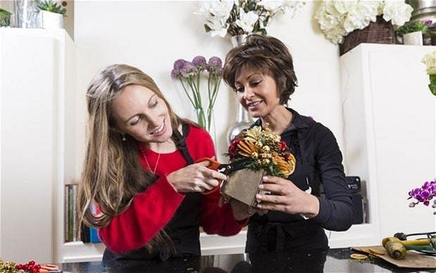 Rosemary Livingstone: the queen of Christmas flowers