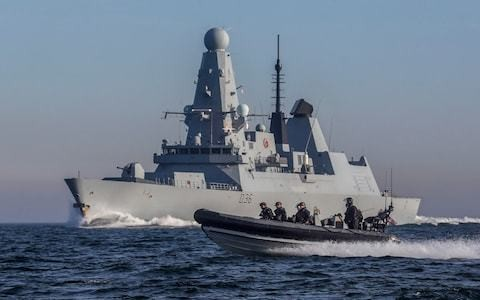 Royal Navy sends third warship to the Gulf to protect British-flagged ships from Iranian attacks