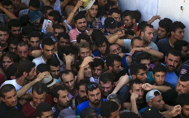 Greece sends riot police to crisis-hit Aegean island