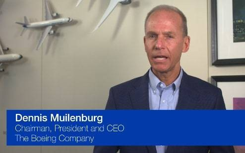 Boeing chief issues personal message in wake of 737 Max crashes