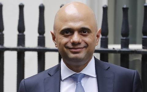 Sajid Javid says taxes could be cut for middle class earners this Autumn