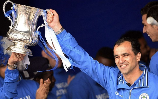 Wigan Athletic chairman Dave Whelan optimistic manager Roberto Martínez will stay at DW Stadium