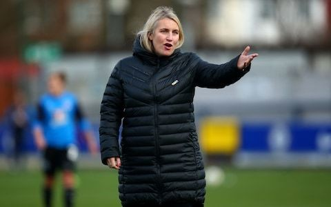 Chelsea manager Emma Hayes prepared for the biggest game of her managerial career against Lyon