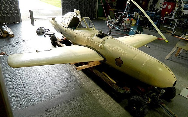 Kamikaze aircraft to go on display for first time