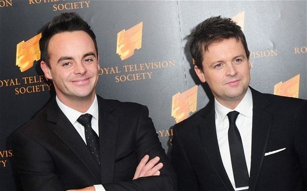 Ant and Dec top UK singles chart