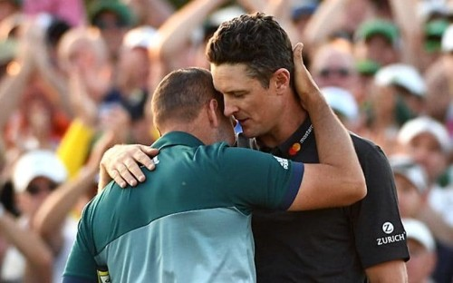 How Justin Rose's classy reaction to great friend Sergio Garcia's Masters win warmed our hearts