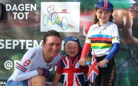 If I couldn't have brought the children with me to races, I don't think I would still be competing - it's a great life-experience for them too