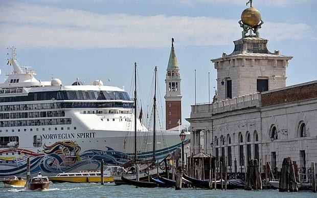 Venice plans £100m artificial island to stop cruise ships invading Grand Canal