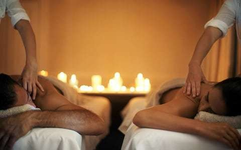 Why a 'sexy' couple's massage is always better on your own