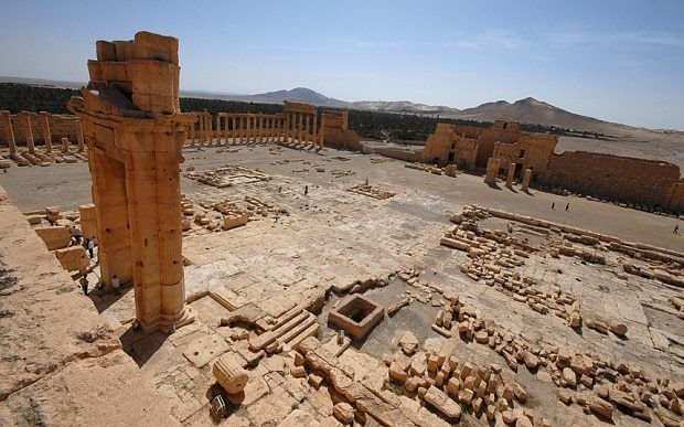 The most endangered World Heritage sites caught up in the Middle East wars