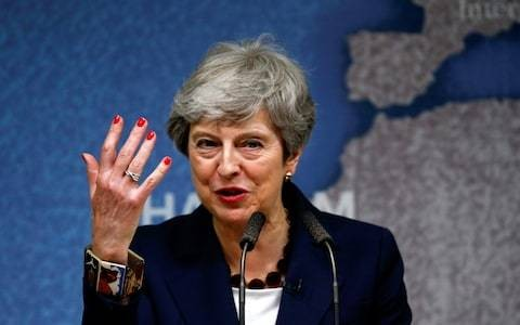 Theresa May fires parting shot at politicians who make promises they 'cannot keep'