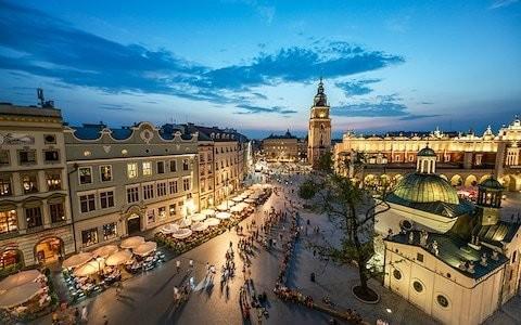 Krakow named cheapest city for a European break this spring