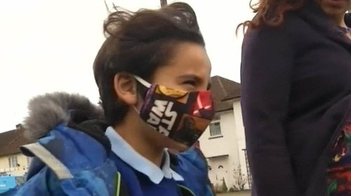 The face masks helping kids beat London's air pollution
