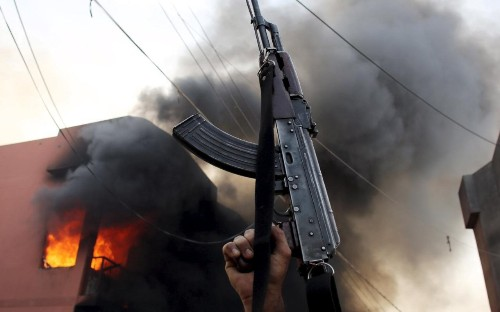 Violence flares between uneasy Kurdish and Turkmen allies in war against Isil