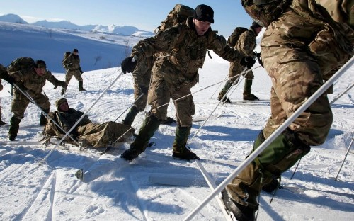 Russia attempting to provoke Dutch and Royal Marines in Arctic Circle