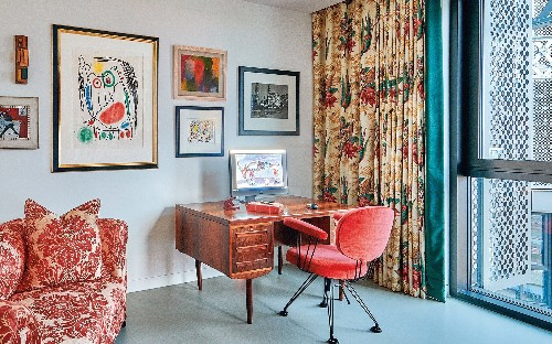 The joy of downsizing: Inside a retired couple's small but stylish London flat