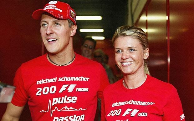 Michael Schumacher: 'paralysed and in a wheelchair'