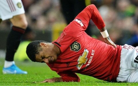 Marcus Rashford set to miss Manchester United's trip to Anfield