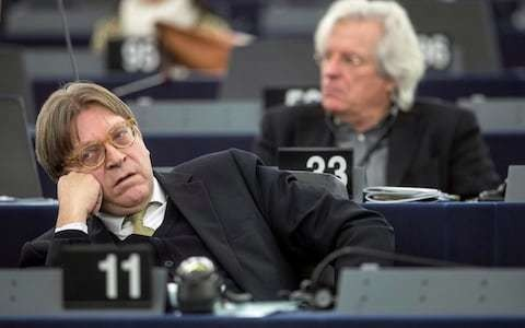 Guy Verhofstadt launches attack on 'dissembling' Boris Johnson