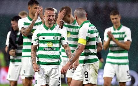 Leigh Griffiths makes comeback as Celtic ease past Sarajevo in Champions League qualifier